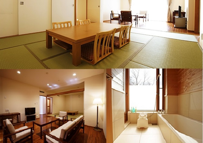 japanese style with living room